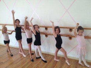 Kindergarten dancers at Catherine's Dance Studio in Parkville, MO