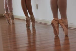 You need special pointe shoes to take a pointe ballet class. Pointe ballet is done in specialized type of ballet shoes that helps the dancers dance on their toes. Pointe shoes are worn to make your legs look longer and the ballet moves more graceful.