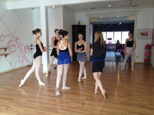 Pointe is a specialized ballet class the is only a half hour and focuses on ballet dancing on point, the tip of the ballet shoe. Catherine's Dance Studio, 170 English Landing Drive, Suite 111-Parkville-MO-64152 offers this unique class.