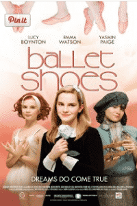 Ballet shoes is a dance movie that Catherine's Dance Studio, 170 English Landing Drive, Suite 111-Parkville, MO 64152 thinks children would enjoy and is a good family movie about dance.