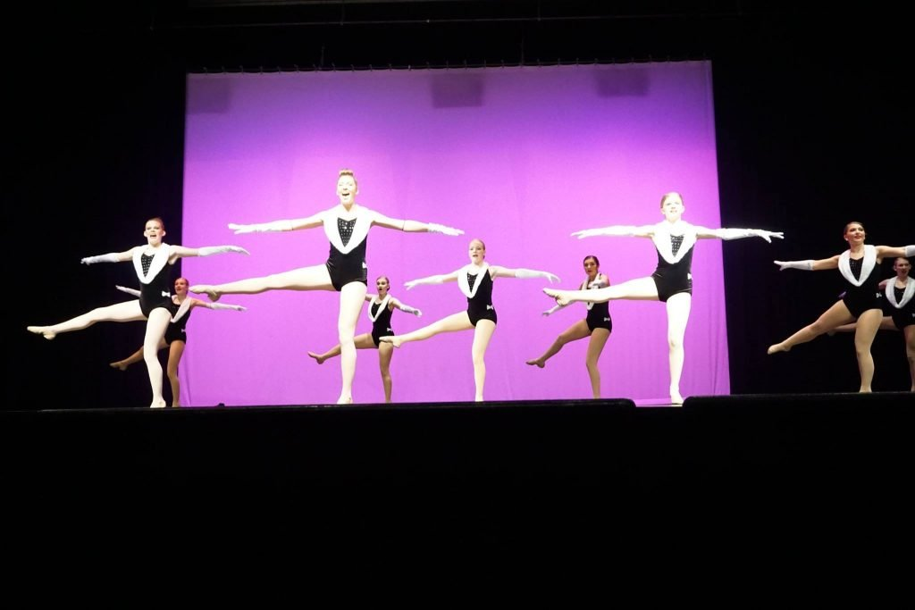 Girls wanting to be on a high school dance team should take Jazz class at Catherine's Dance Studio, Parkville in preparation for trying out and being selected for their high school dance teams.