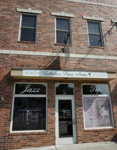Front of Catherine's Dance Studio, Parkville downtown